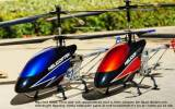 RC Helikopter RED HAWK II VOL - 73 cm stor med 2.4Ghz !