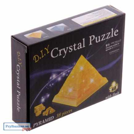 3D pussel pyramid