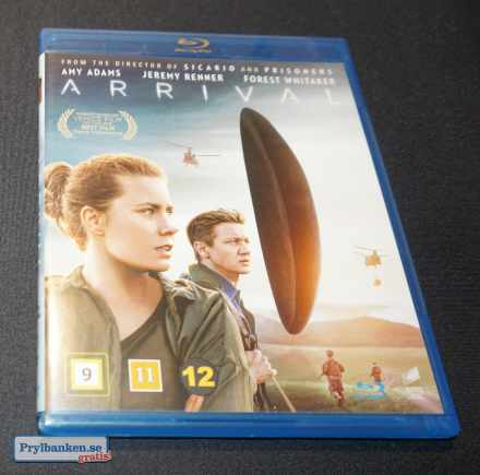 Arrival, Blu Ray. 30,-